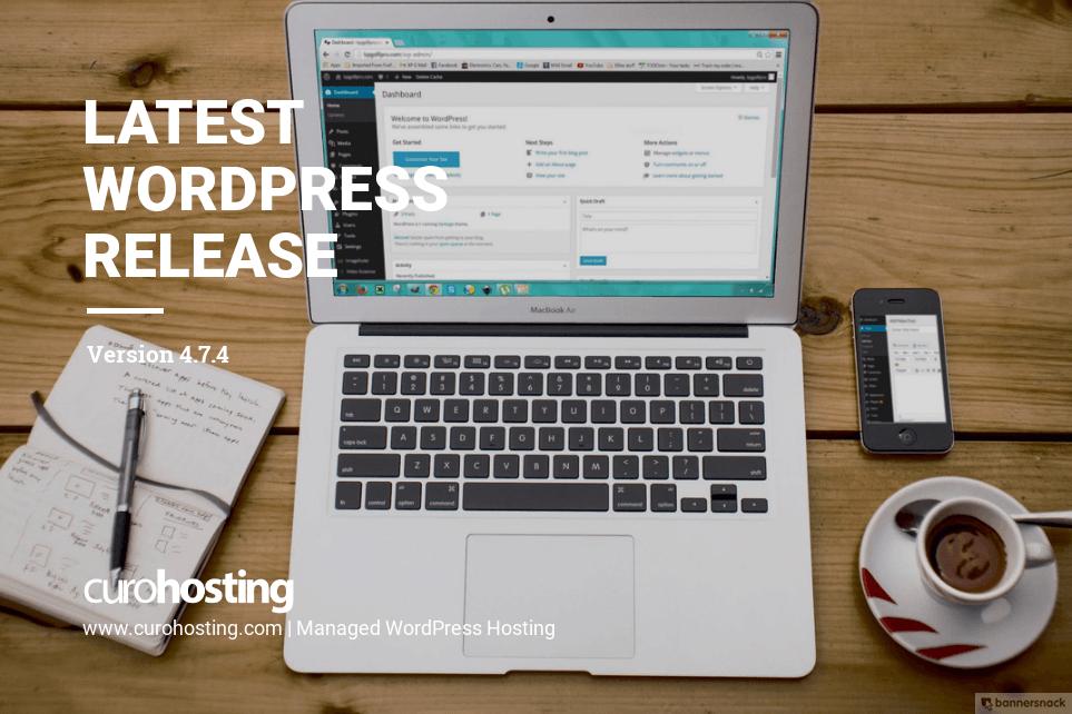 WordPress 4.7.4