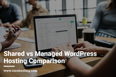 Shared vs Managed WordPress Hosting Compaison