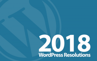 2018 WordPress Resolutions