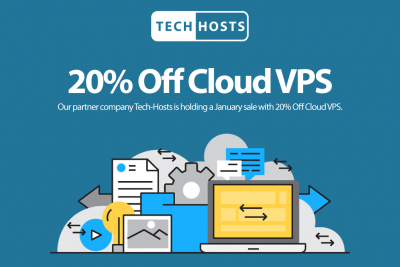 Tech-Hosts January Sale on Cloud VPS