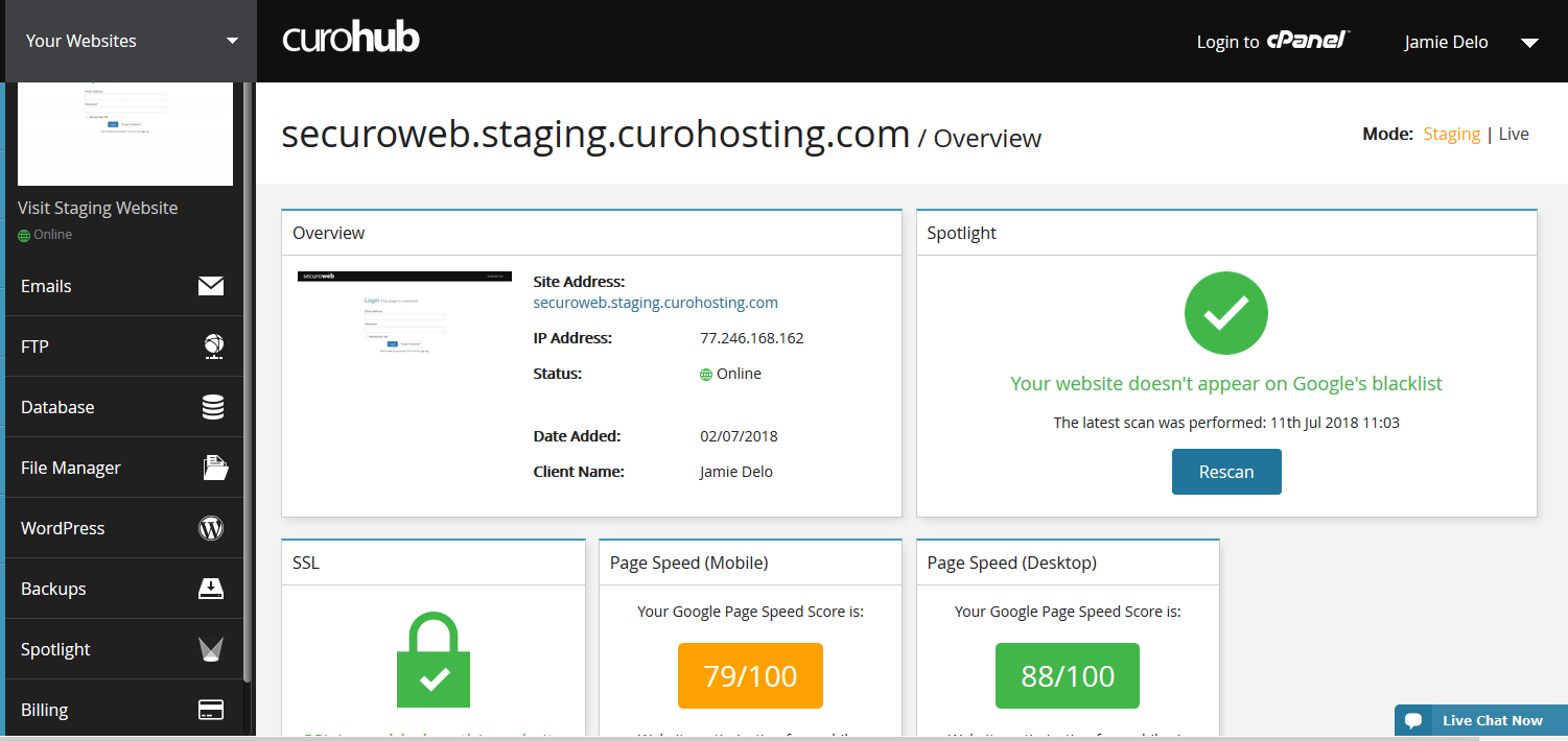 The Relationship Between WordPress Hosting and cPanel - CuroHosting Blog